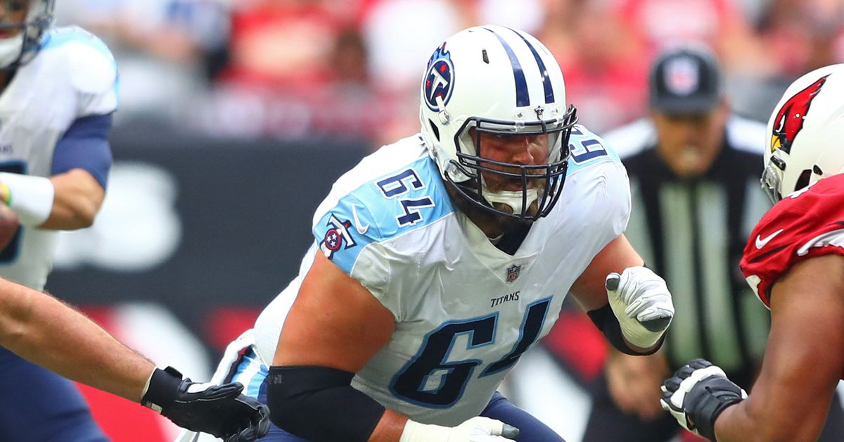 The Titans need to revamp the interior of their offensive line, but they have a $24 problem