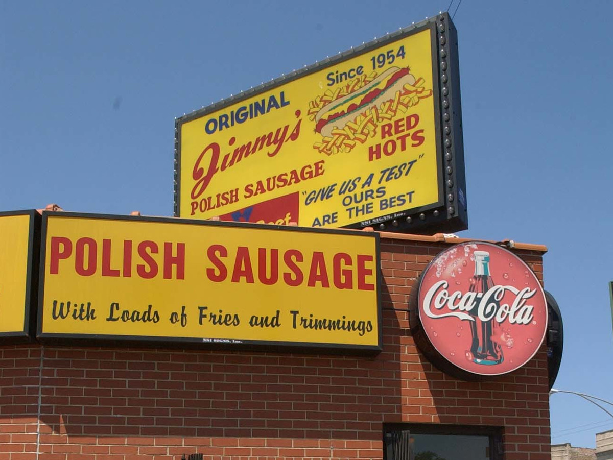 Jimmy's Red Hots at 4000 W Grand Ave.   Sun-Times file photo