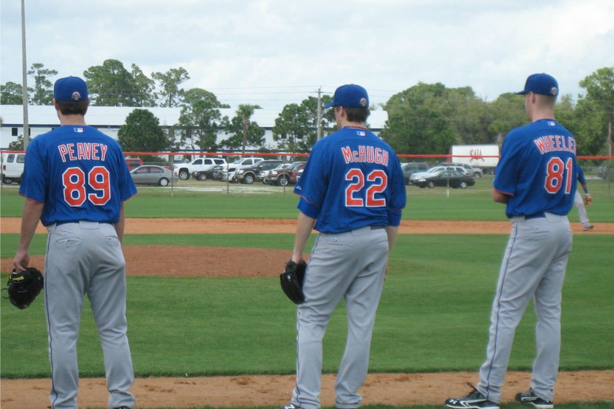 Look! It's some guy standing next to Zack Wheeler!