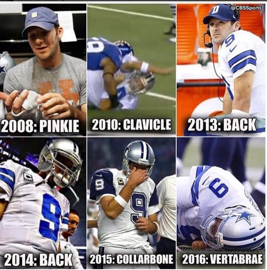 In Honor Of His Retirement Here Are The 18 Best Tony Romo Gifs And