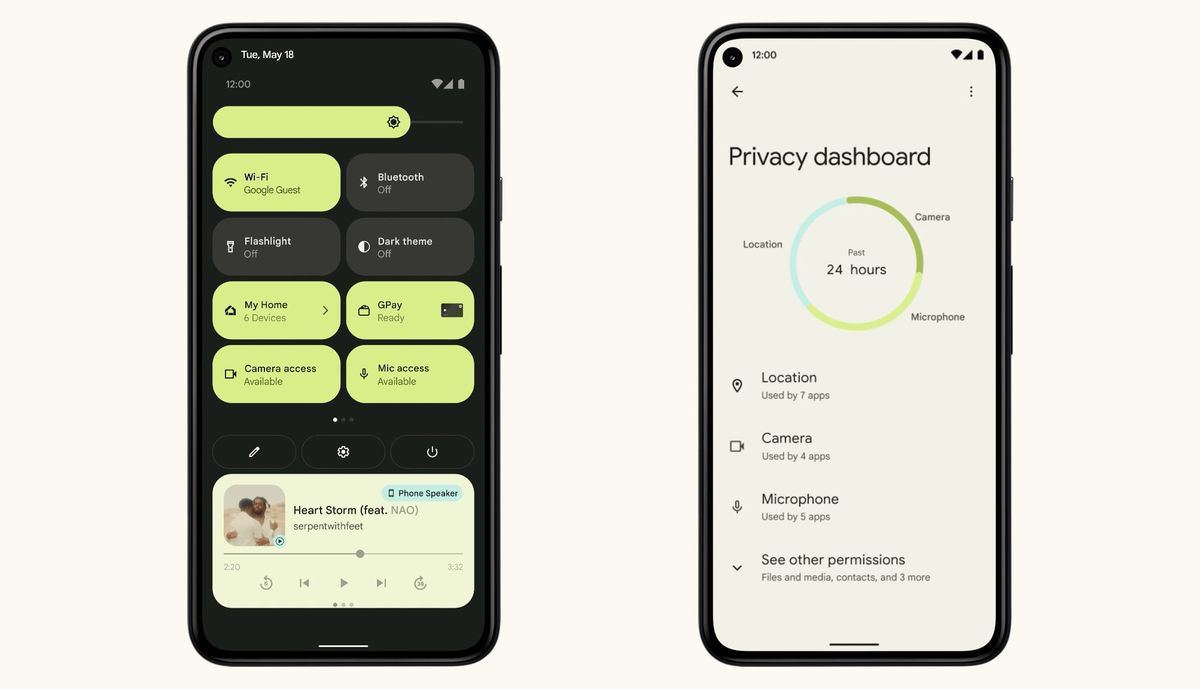 Android 12 preview: first look at Google's radical new design - The Verge
