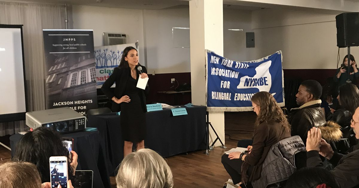 ny.chalkbeat.org: Ocasio-Cortez, other politicians debate SHSAT at lively education town hall