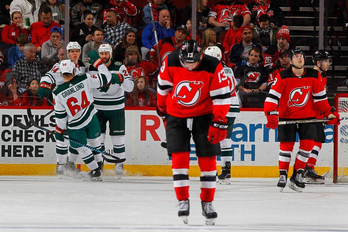 Minnesota Wild v New Jersey Devils