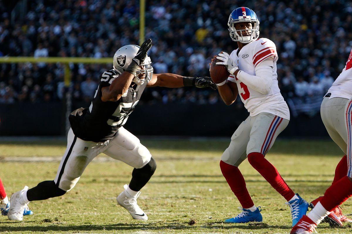 bcacd23e3 Willie McGinist puts Raiders DE Khalil Mack as NFL's third best pass rusher  for 2018