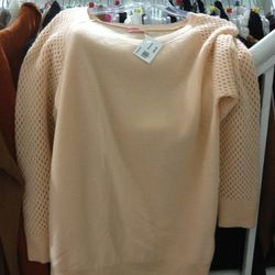 Cashmere sweater for $99.