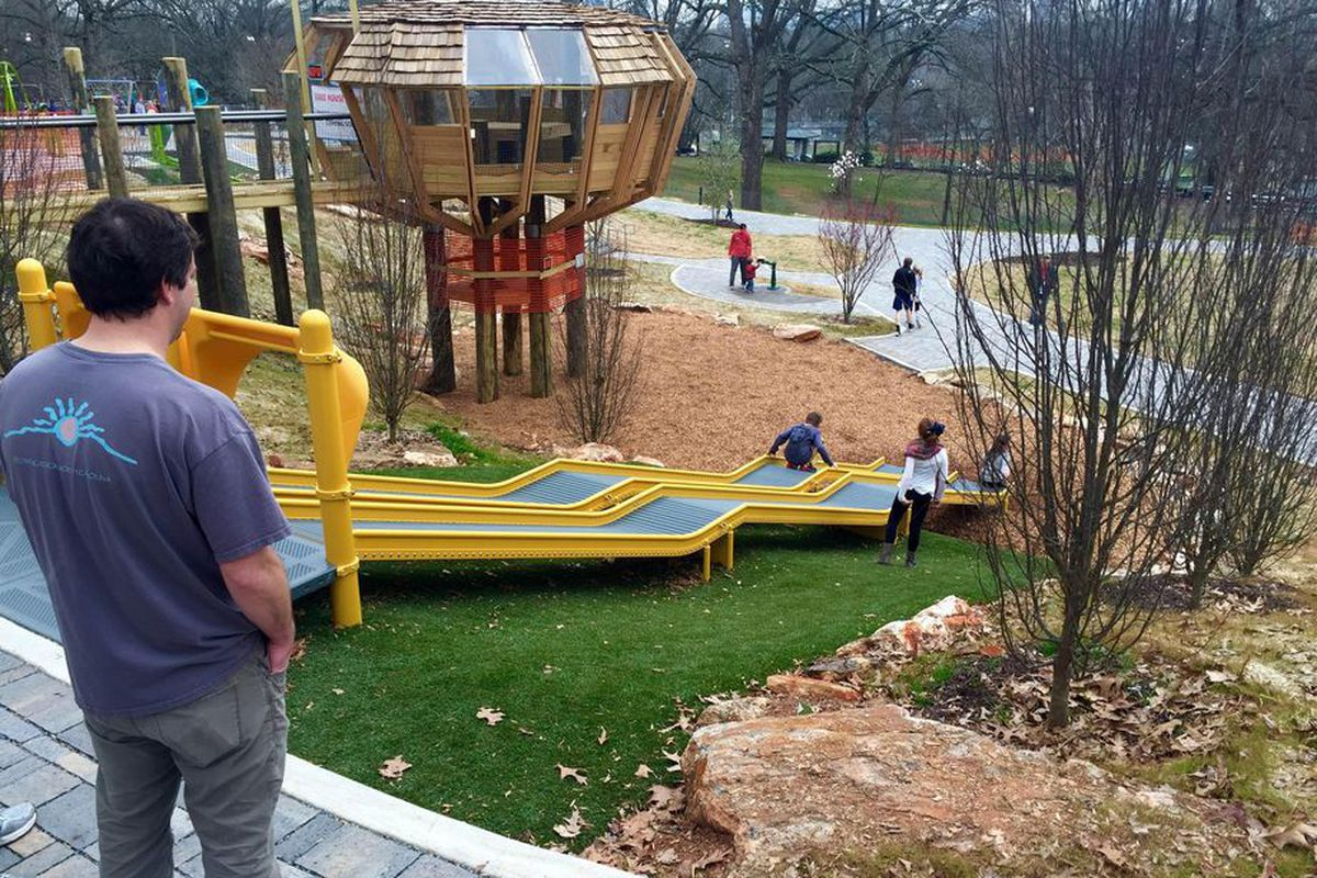 Chastain Park's already impressive playground is set to receive new features.