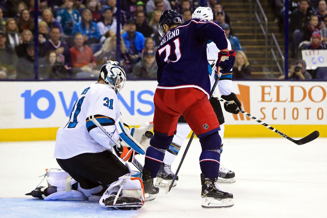 Sharks 0, Blue Jackets 4: Karlsson re-injured as Sharks collapse in Columbus