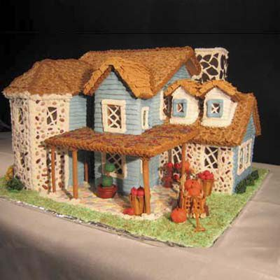 Gingerbread house in Cape Cod.
