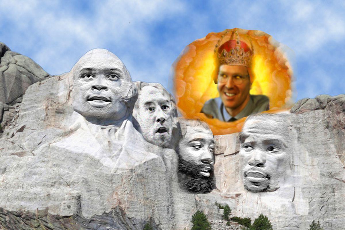 Thunder Rushmore