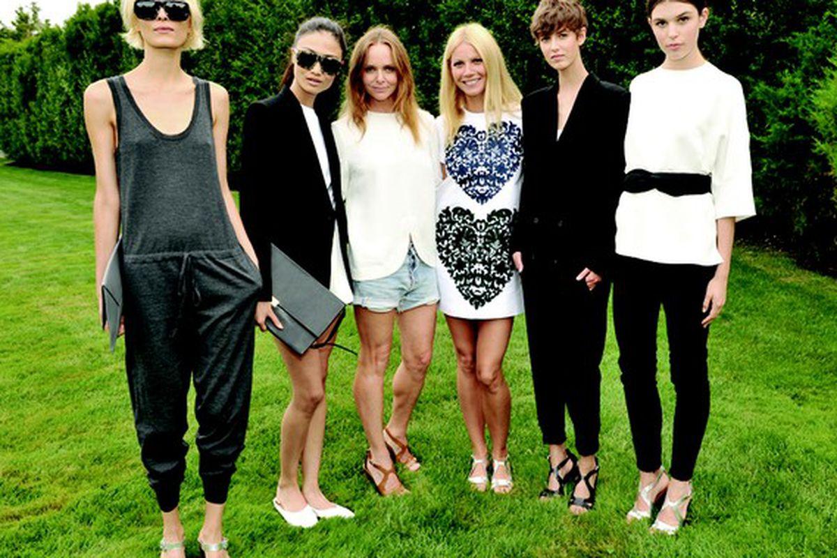 """Image via <a href=""""http://www.wwd.com/fashion-news/ready-to-wear-sportswear/stella-mccartney-gwyneth-paltrow-team-for-goop-line-7111094"""">WWD</a>"""