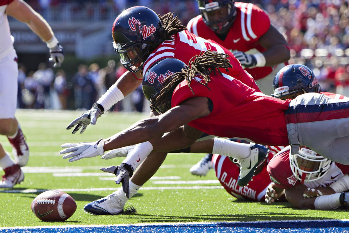 Charles Sawyer could prove to be a factor for Ole Miss again on defense.