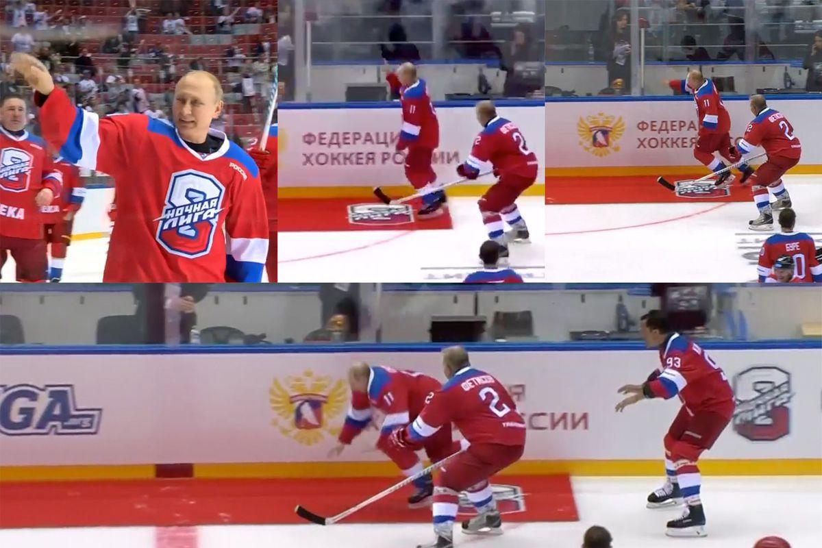 The Score From Sochi Carpet 1 Vladimir Putin 0 Outsports