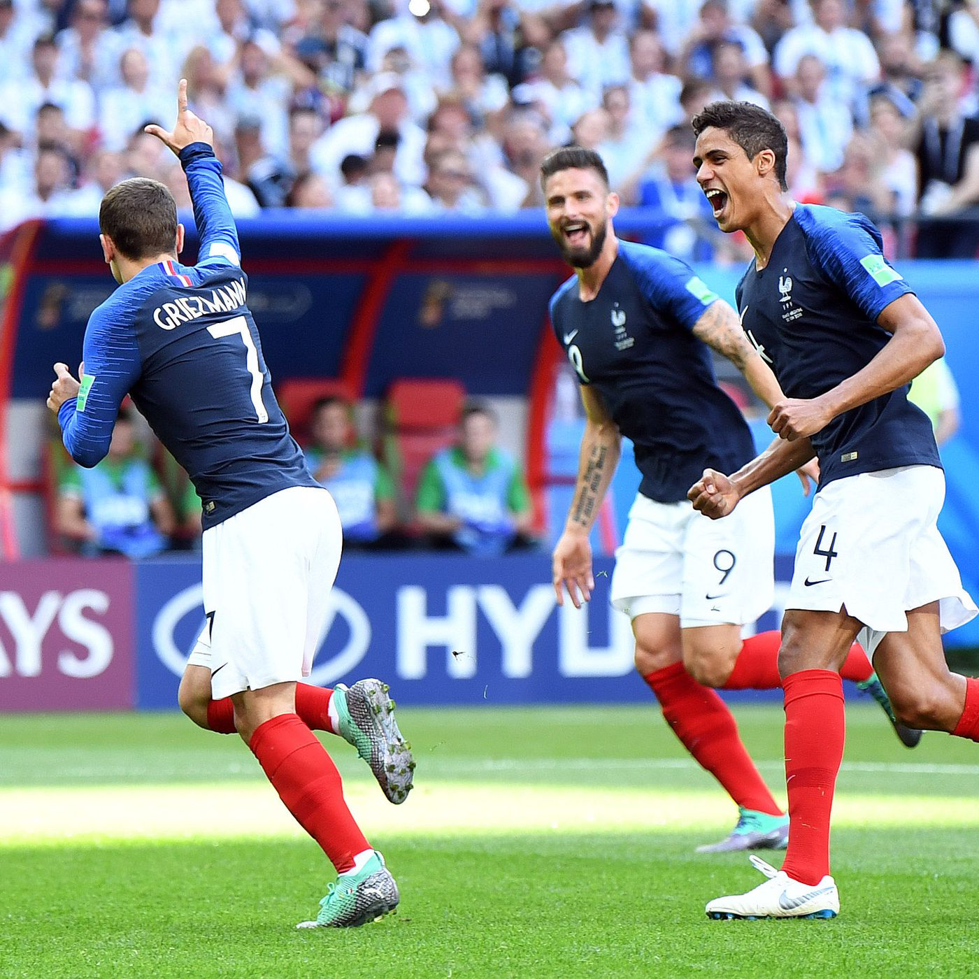 World Cup Final betting line favors the French for Sunday - SBNation com
