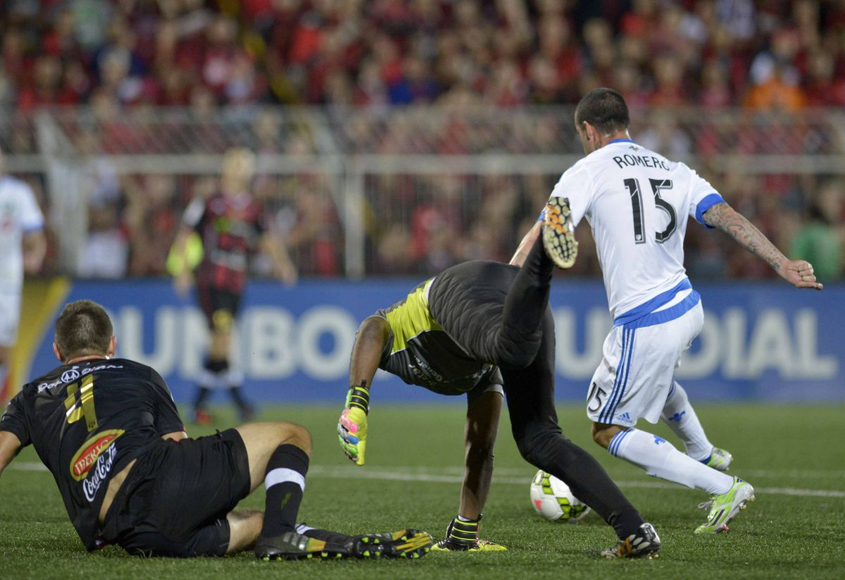 FBL-CONCACAF-ALAJUELENSE-IMPACT OF MONTREAL
