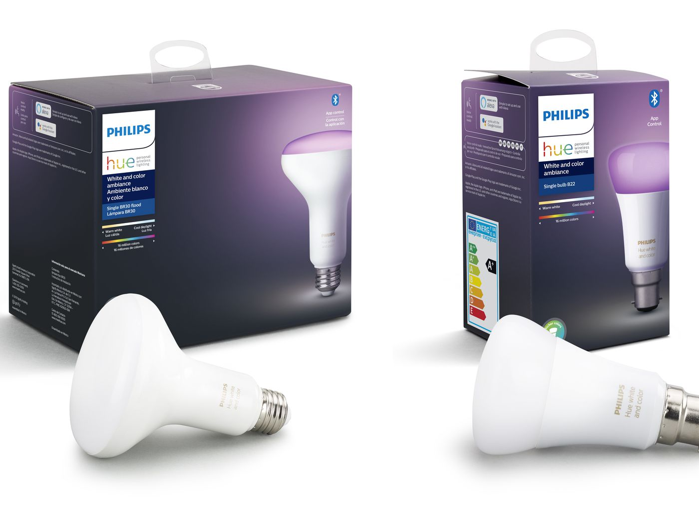 Philips Hue bulbs now come with Bluetooth, so you don't need a hub