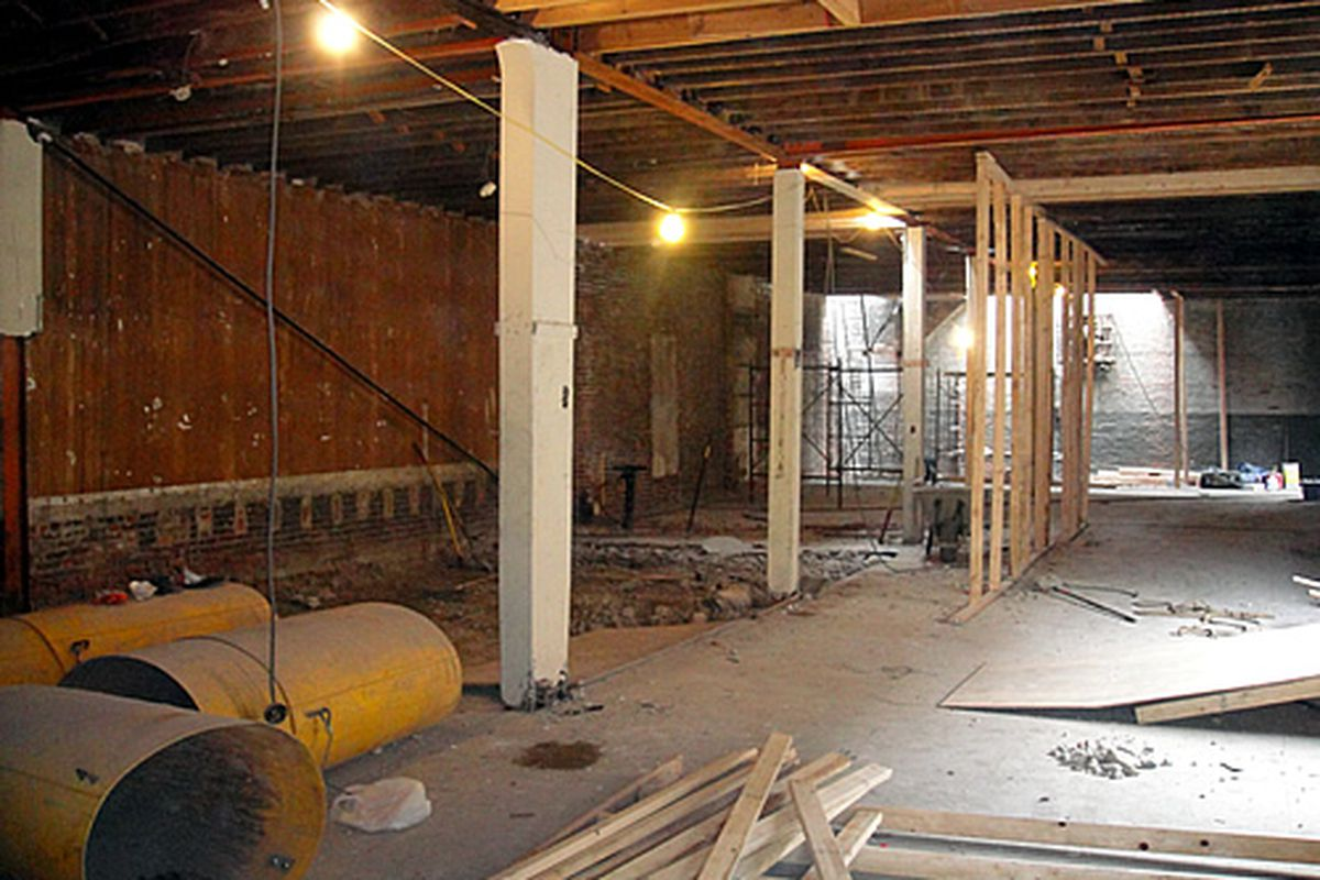 The interior of The Bainbridge Barrel House