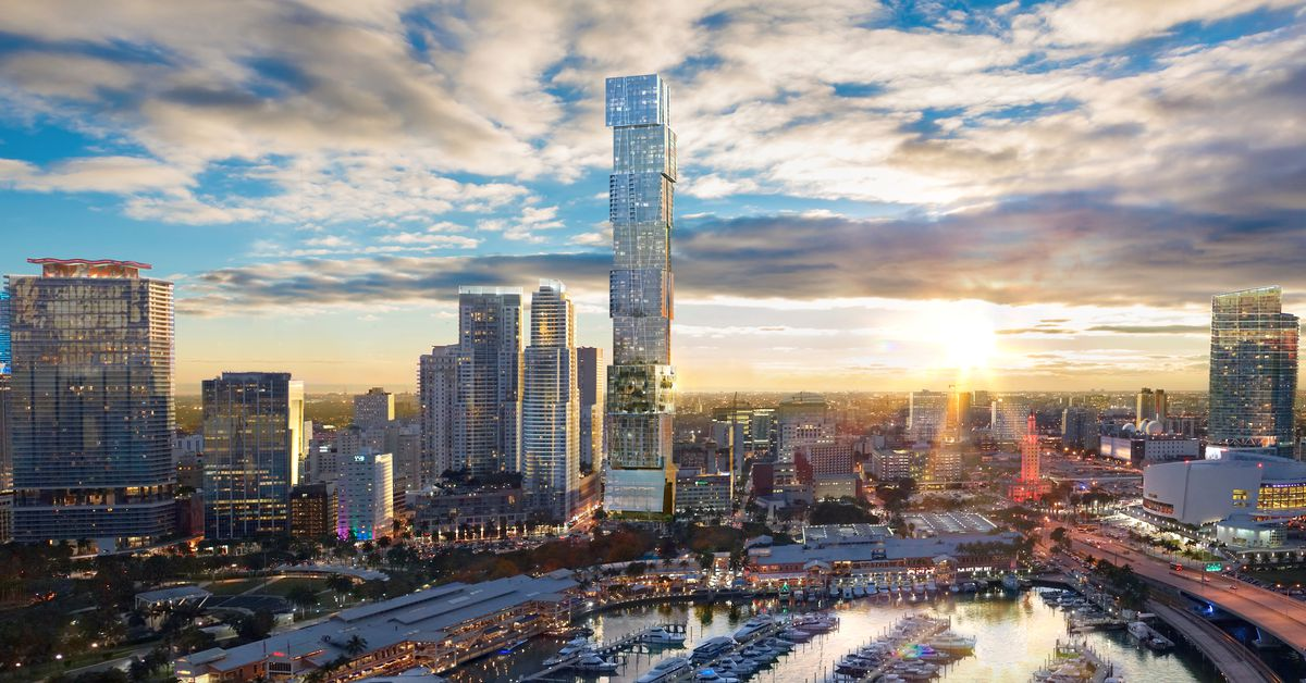 Supertall Waldorf Astoria Hotel And Condo Tower Pitched For Downtown Curbed Miami