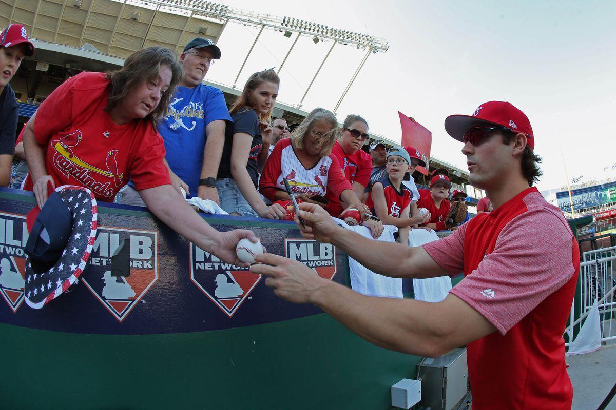 MLB: St. Louis Cardinals at Kansas City Royals