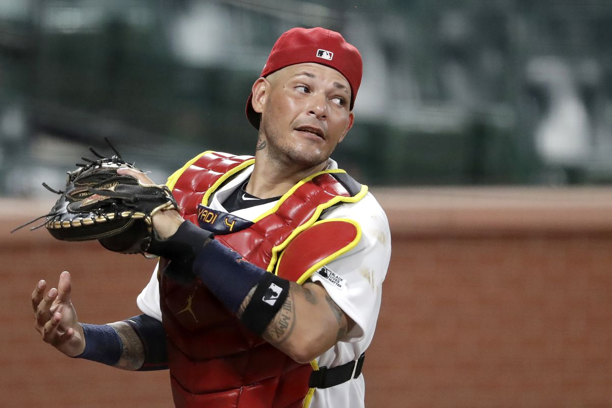 Cardinals catcher Yadier Molina said he tested positive for COVID-19.