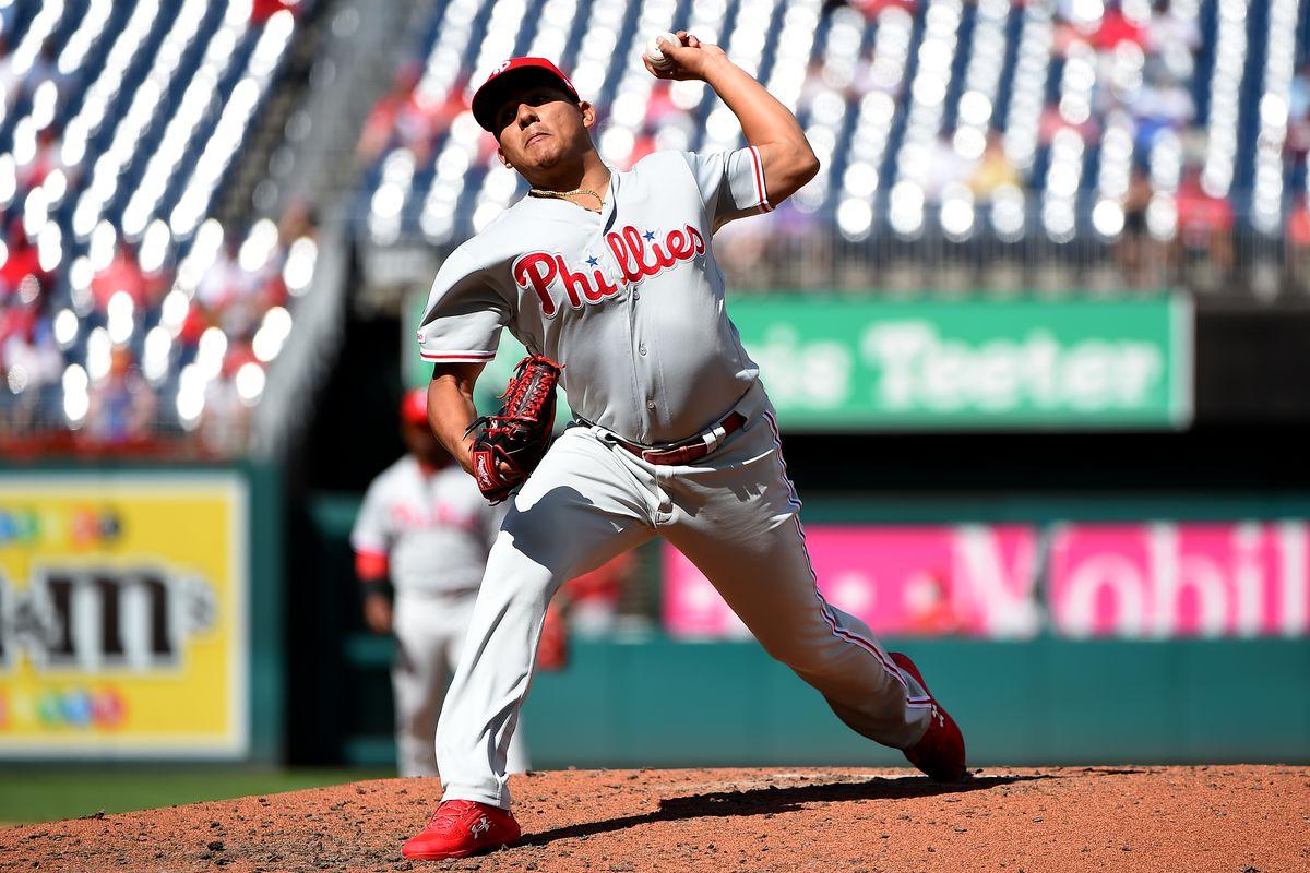 Philadelphia Phillies v Washington Nationals - Game One