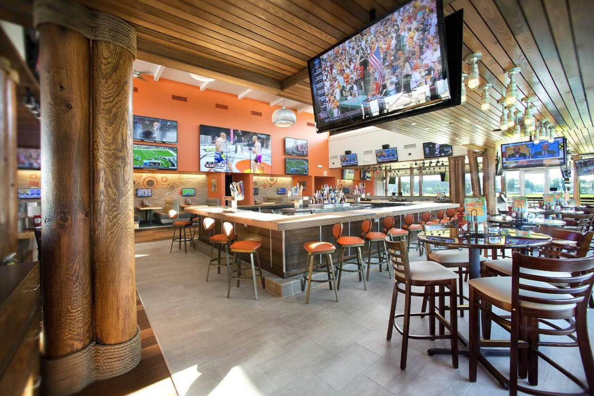 A sports bar
