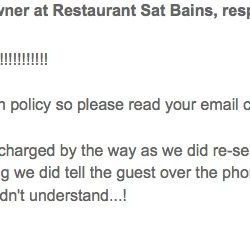 "<a href=""http://www.tripadvisor.com/ShowUserReviews-g186356-d1192128-r85463094-Restaurant_Sat_Bains-Nottingham_Nottinghamshire_England.html#CHECK_RATES_CONT"">Responding to</a> ""BEWARE- v rude, arrogant and money grabbing mercenaries."""