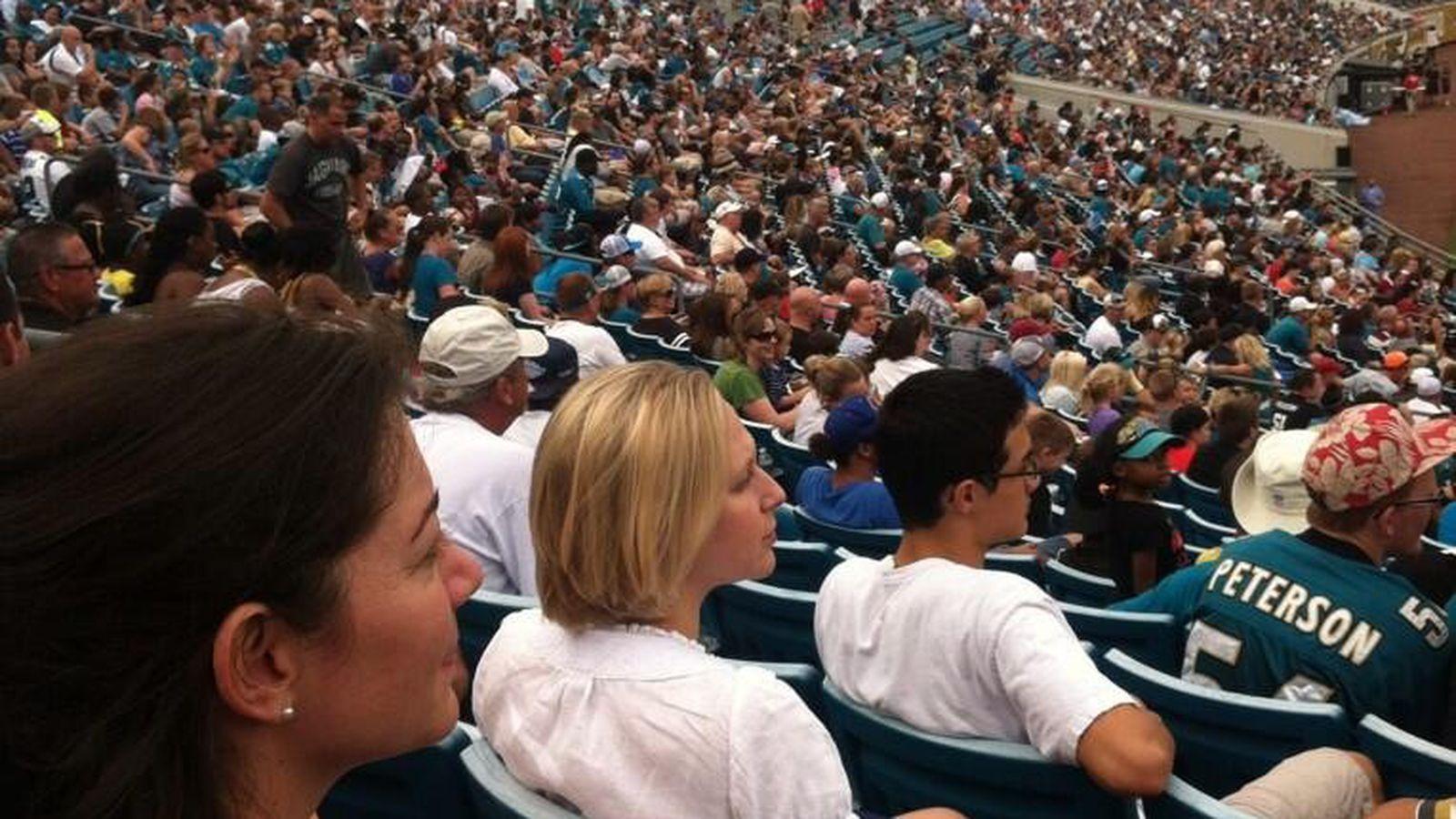19,000 show up for Jaguars scrimmage