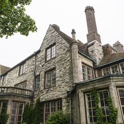 """The building was put up in the so-called """"French Eclectic"""" style. 
