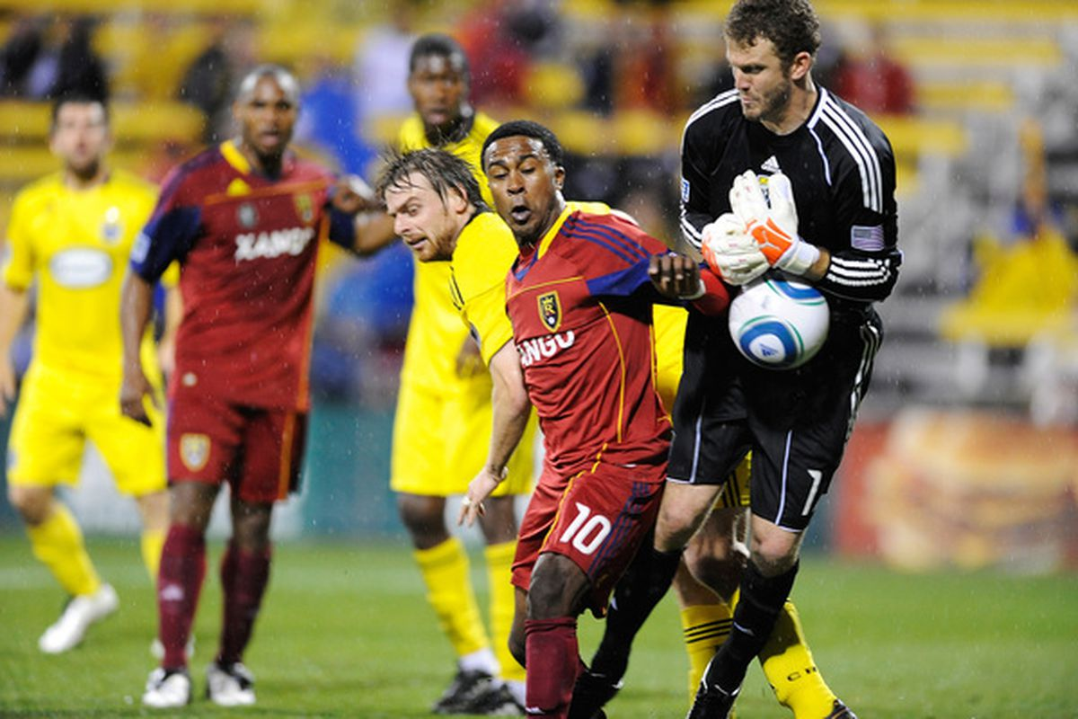 Will Hesmer seems to be back to his Goalkeeper of the Year self