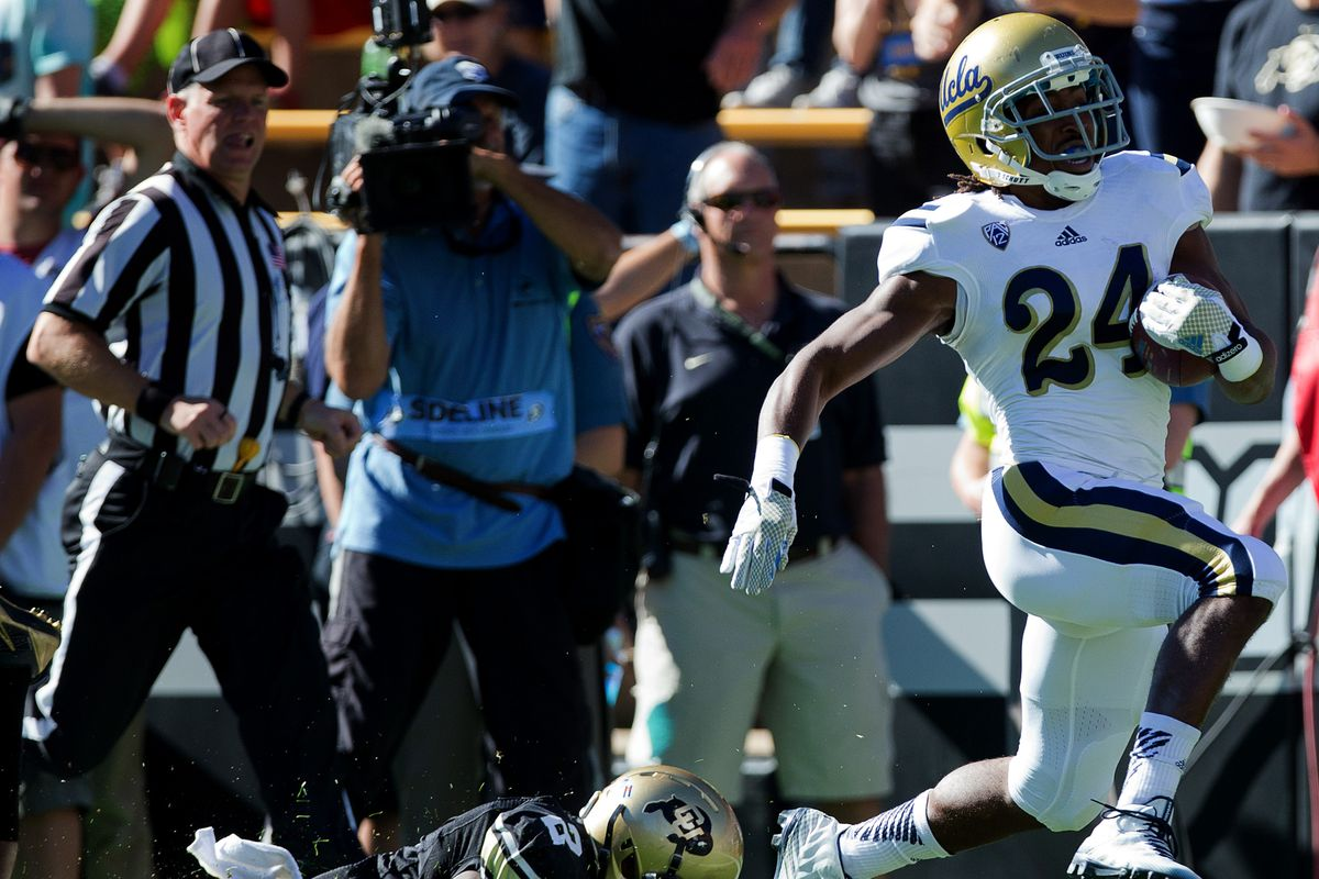 UCLA's powerful running game is back!