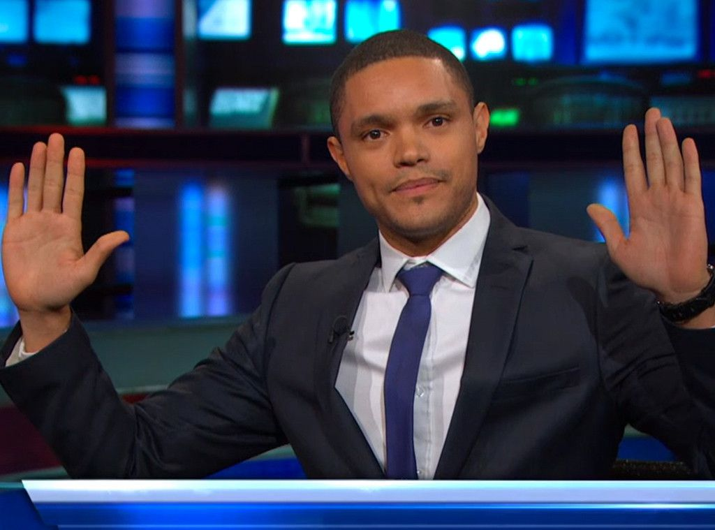 Trevor Noah is the new host of The Daily Show.