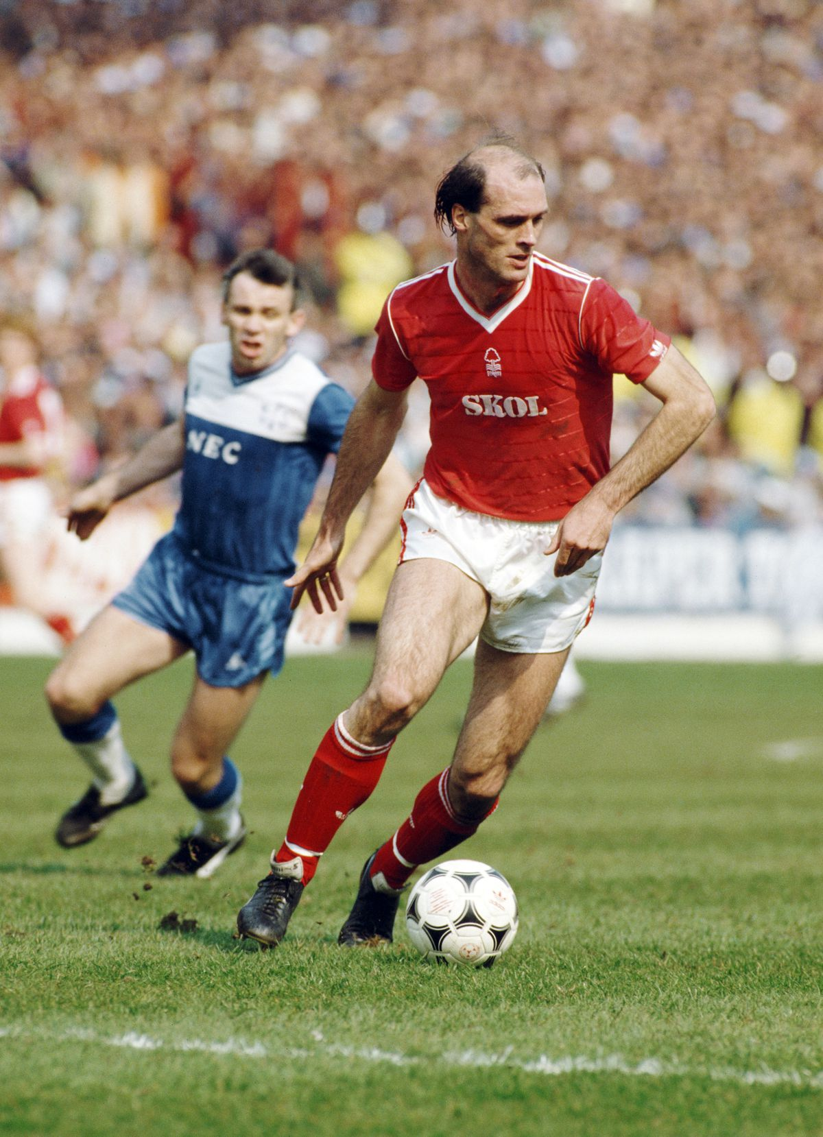 Johnny Metgod Nottingham Forest v Everton 1987