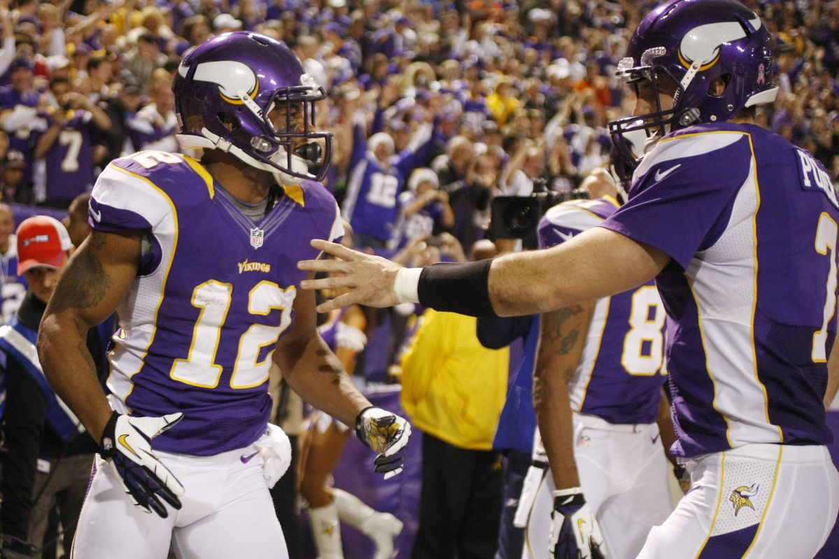 Trading one guy and drafting the other have been two of Rick Spielman's biggest moves