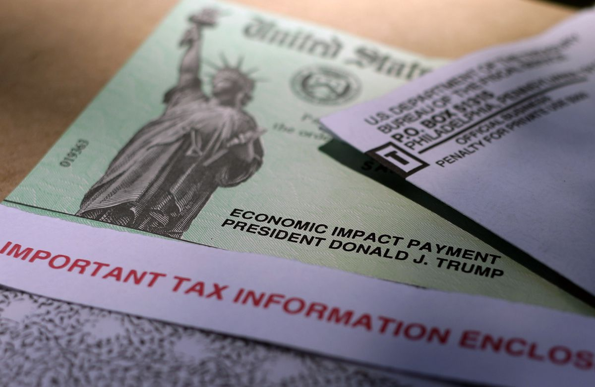 A stimulus check issued by the IRS to help combat the economic impact of the COVID-19 pandemic.