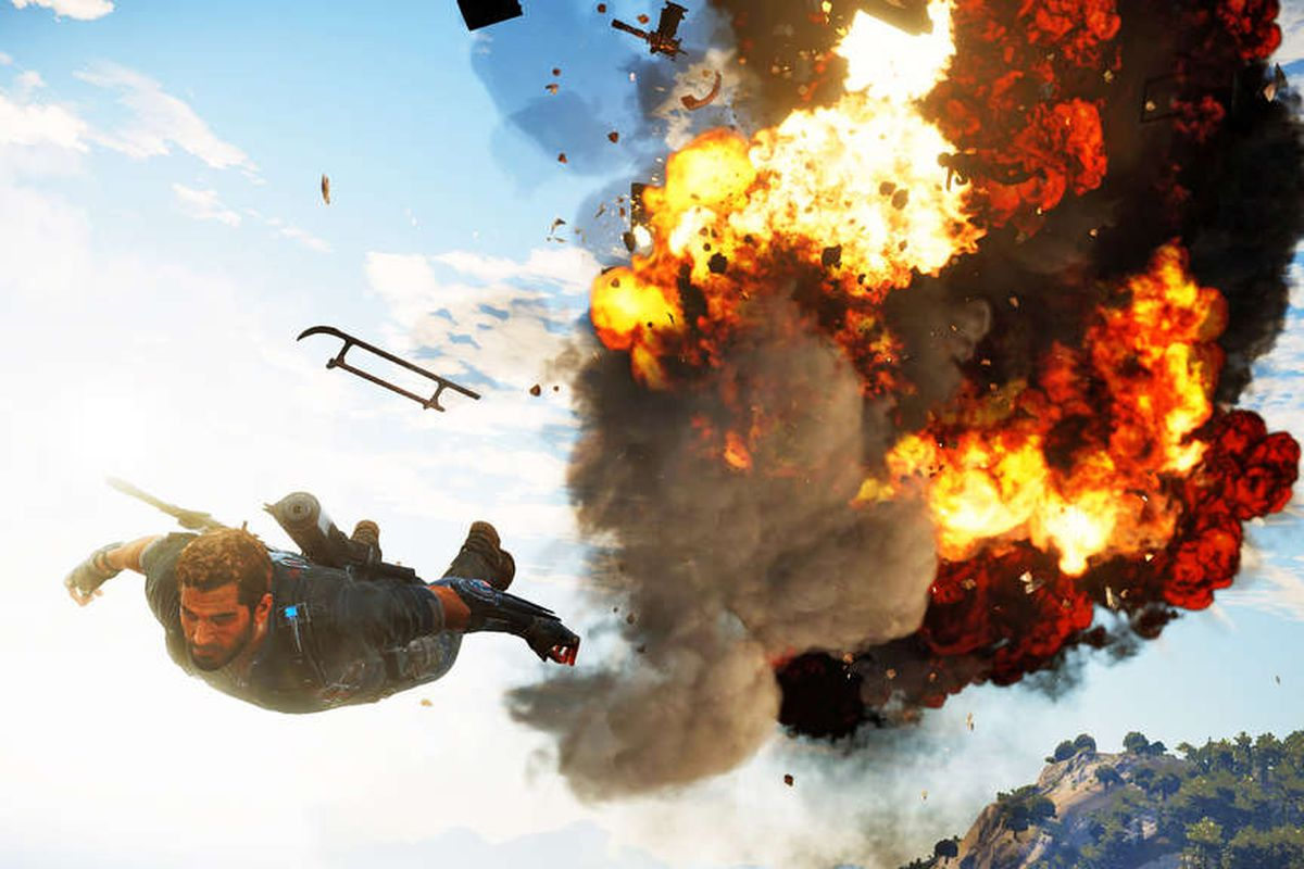 Bombastic New Just Cause 3 Screens Parachute Onto The Internet Polygon Sony Ps4 Gold Edition For Up And Materialized On After Forum Goers Discovered Them In Digital Of Germanys Playstation 4