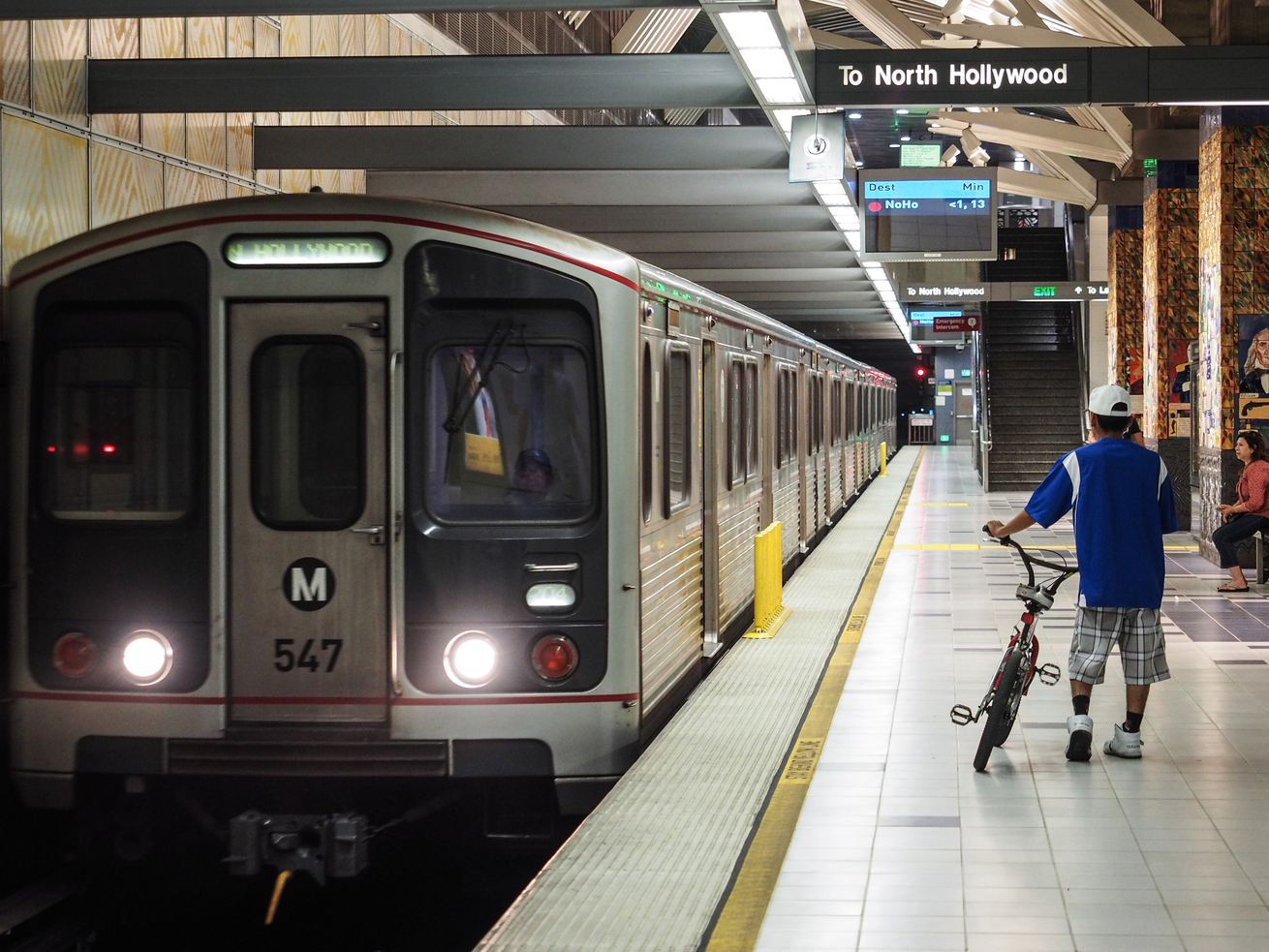 Riders took about 1.5 million fewer trips on Metro's Red Line in 2018 than they did in 2017.