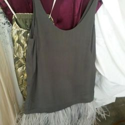 Ostrich feathers!   A true sample, only $40