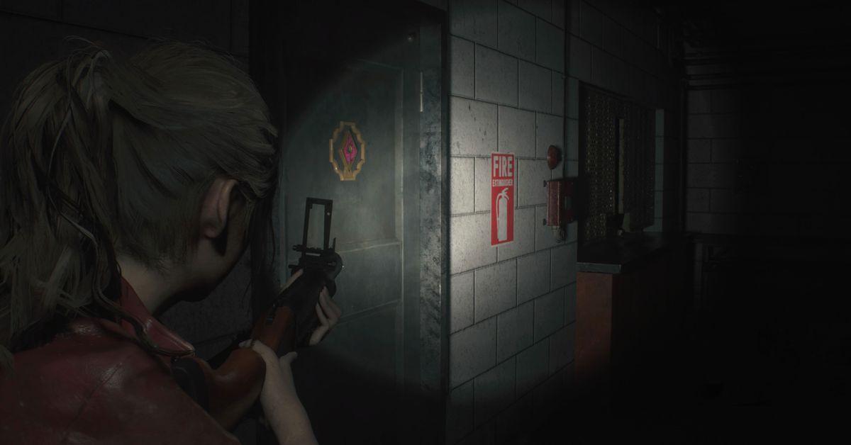 Resident Evil 2 Claire Parking Garage Walkthrough Polygon