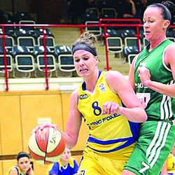 Hamlin native and Exira grad Hallie Christofferson is currently in Austria, playing for the Flying Foxes professional women's basketball team there. Christofferson has had the opportunity to play all across Europe with the leagues the Foxes play in and she'll return to America in April.