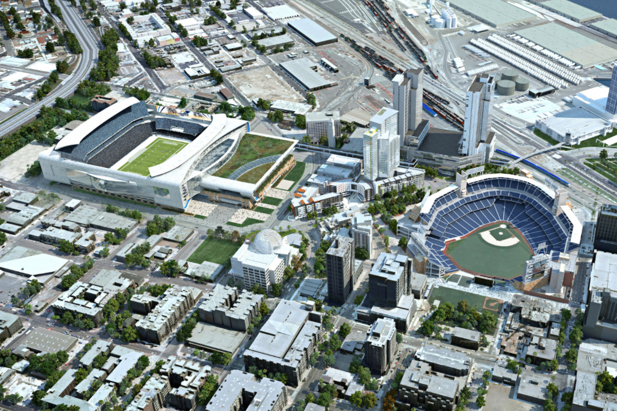 JMI Realty's proposed stadium in downtown San Diego