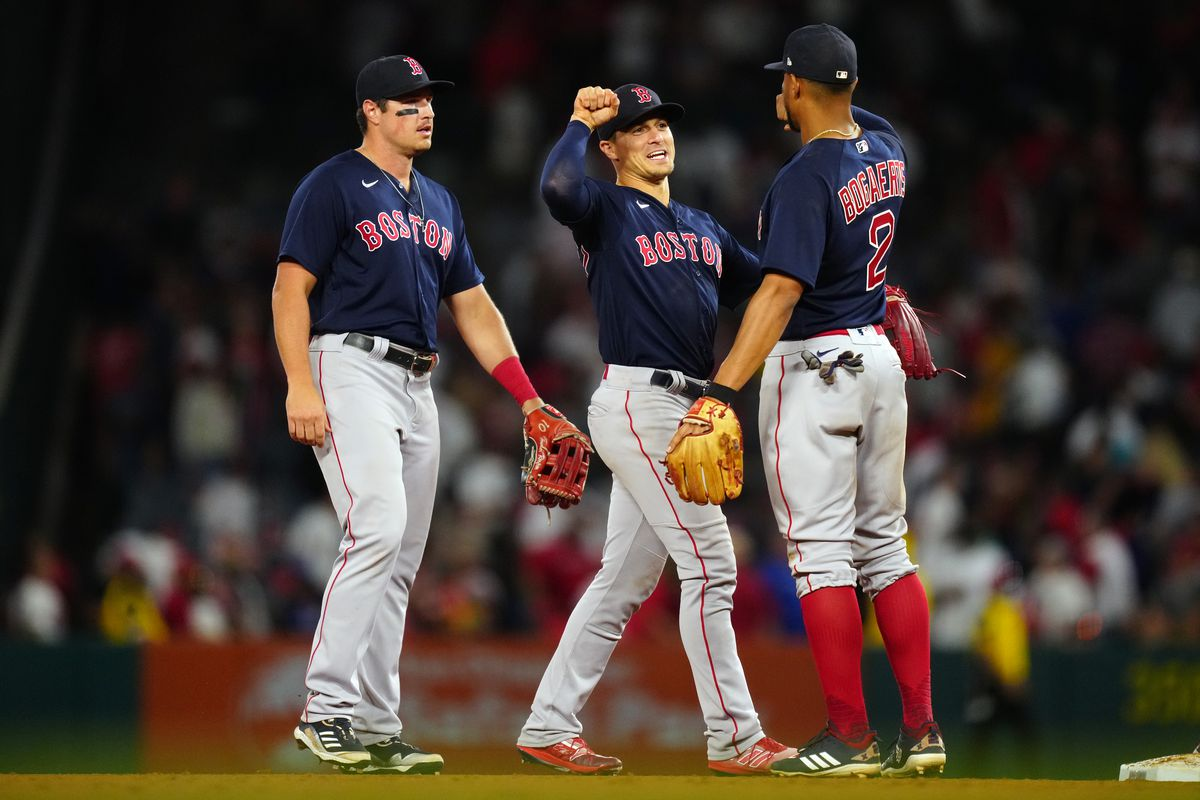 Boston Red Sox v. Los Angeles Angels
