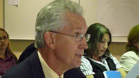 Metro State President Steve Jordan defended the proposed funding model.