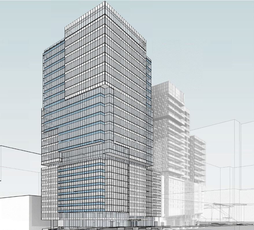 a rendering of the tower to-come