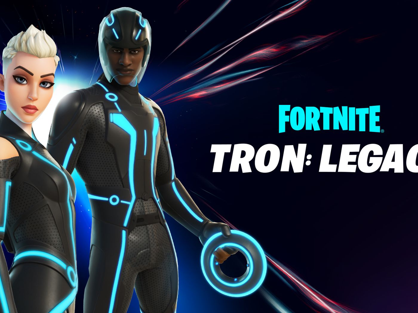 Boy Turns Into A Girl Fortnite Tron Invades Fortnite With Light Cycles And New Skins The Verge