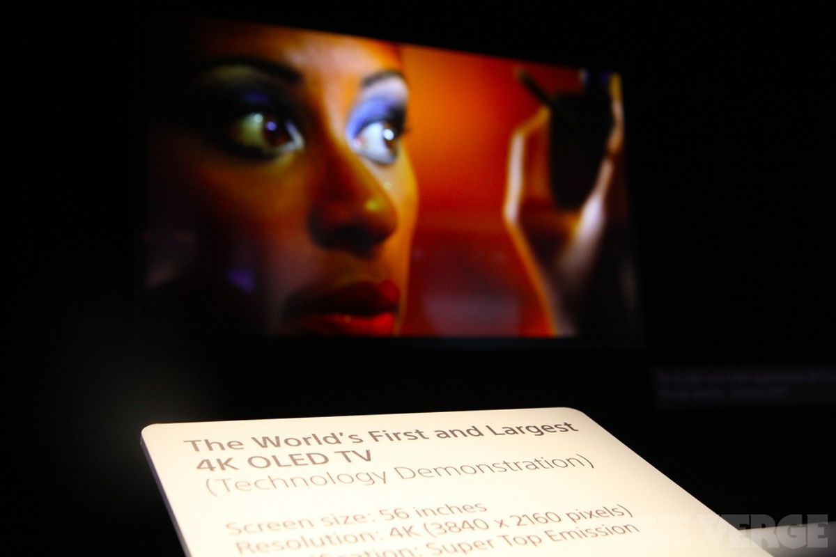 Gallery Photo: Sony OLED 4K TV hands-on photos