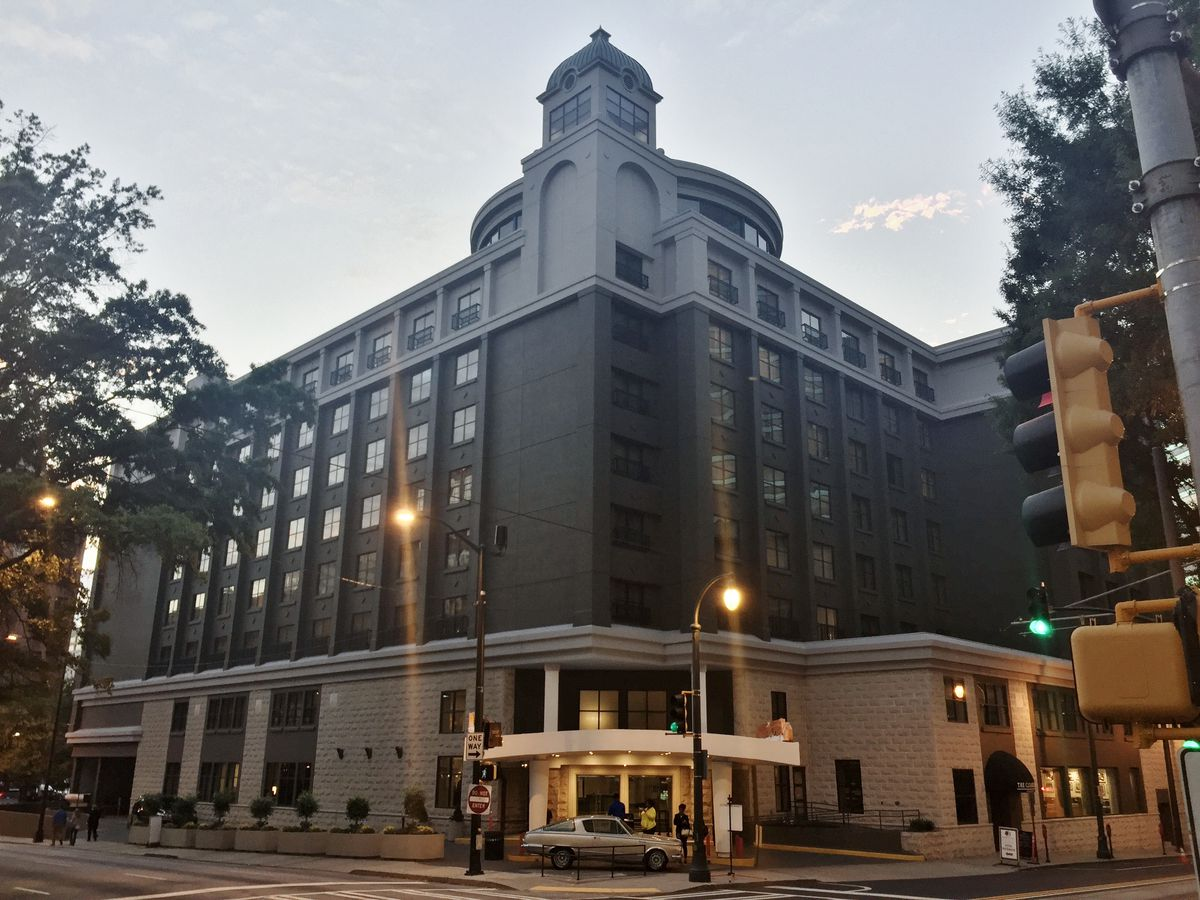 The Hotel As It Ears Today Michael Kahn Curbed Atlanta
