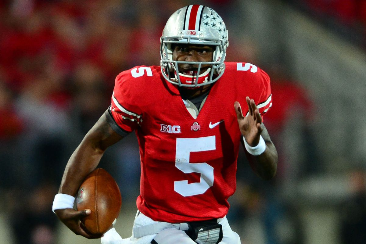Braxton Miller becomes the first Buckeye to win offensive player of the year since Troy Smith in '06.