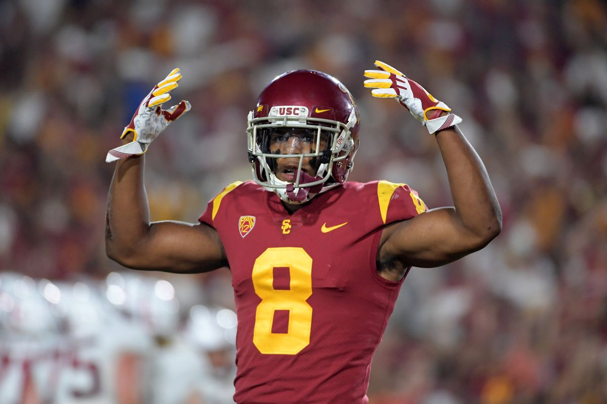 various colors feade 60710 2019 NFL Draft: USC cornerback Iman Marshall selected by the ...