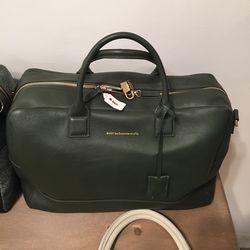 Large leather bag, $585