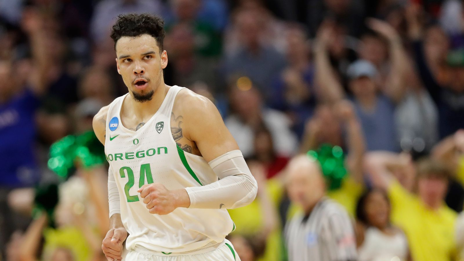ankle oregons dillon brooks - HD 1200×792